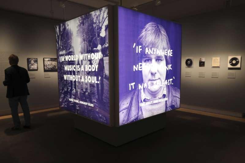 英國倫敦帝國博物館舉辦「戰火下的文物」特展。(AP)