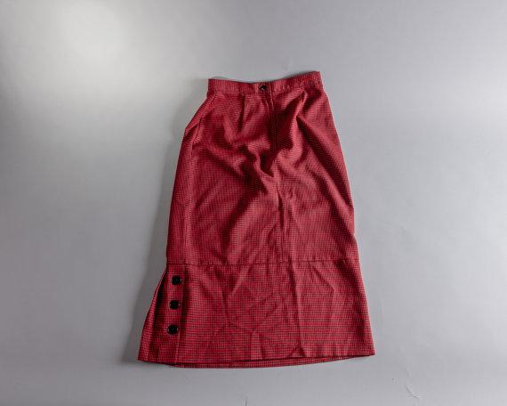 Vintage Avon Fashions Hot Hip Long Skirt