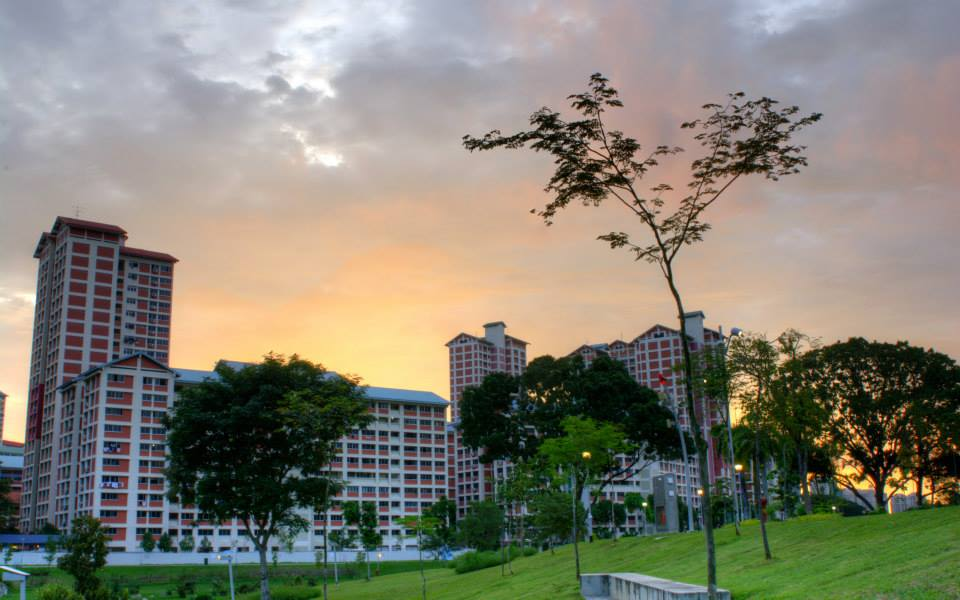 Sunset at Bishan Park