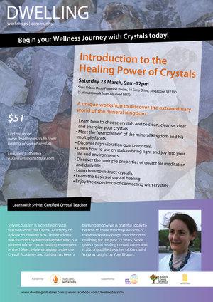 Crystal Workshop Poster
