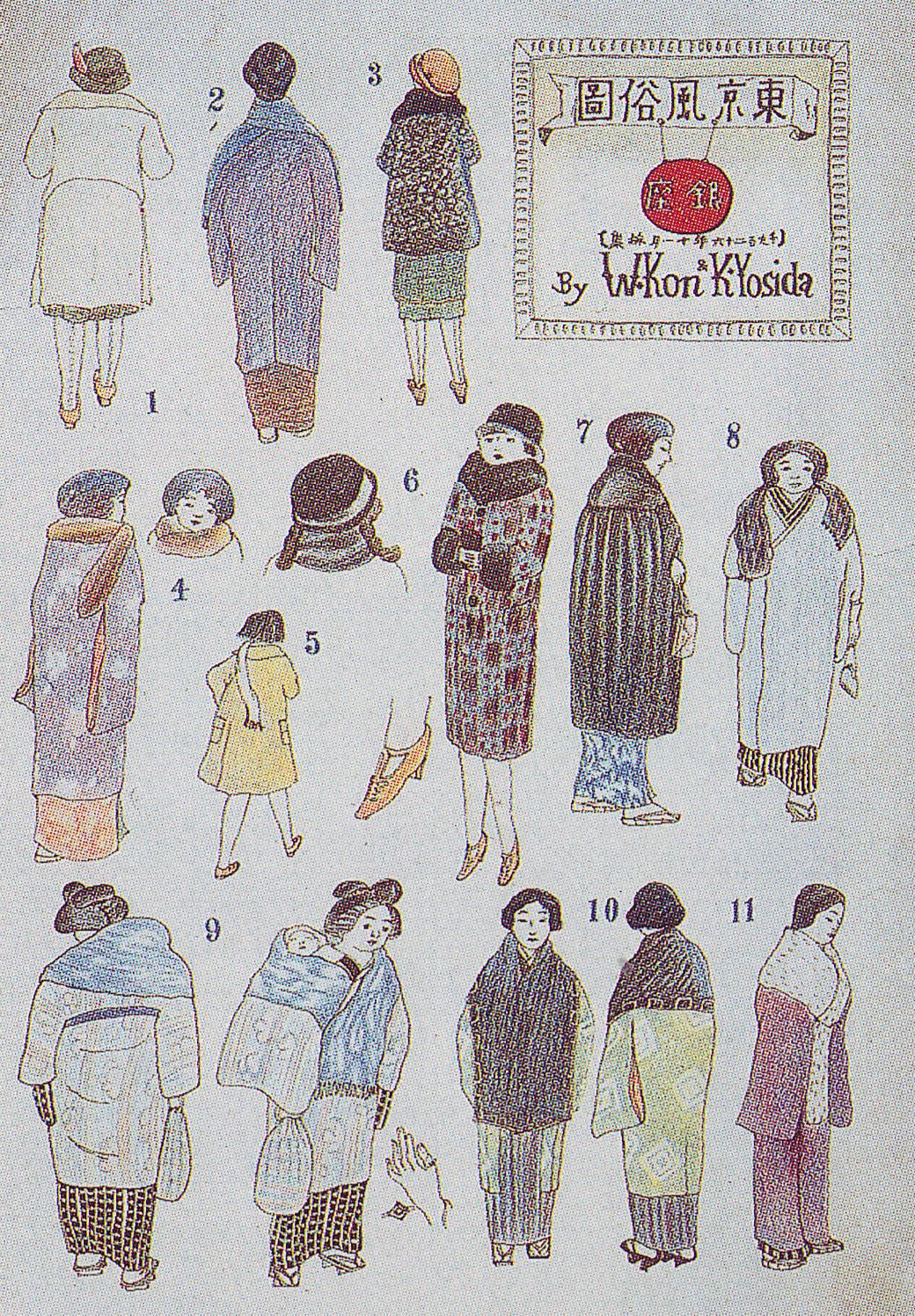1926 Kon Wajiro Styles in Tokyo.jpg