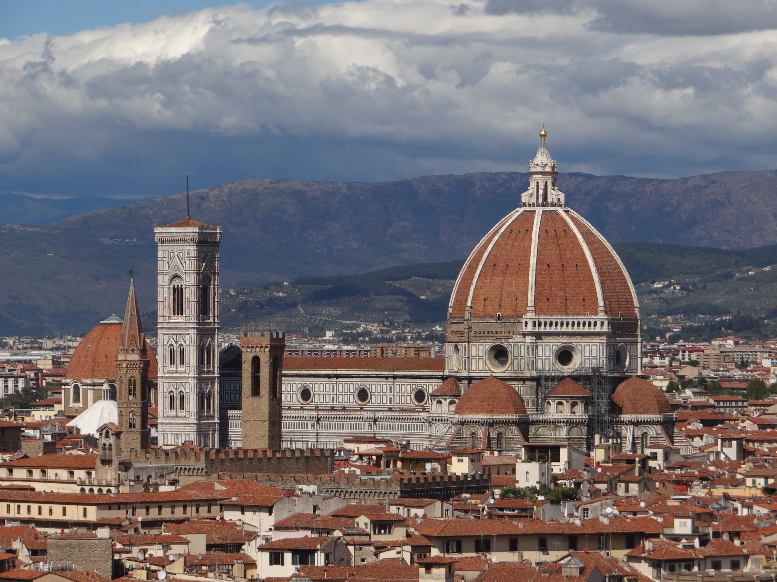 Filippo Brunelleschi,  Florence Cathedral Dome , 1418 - 1461.