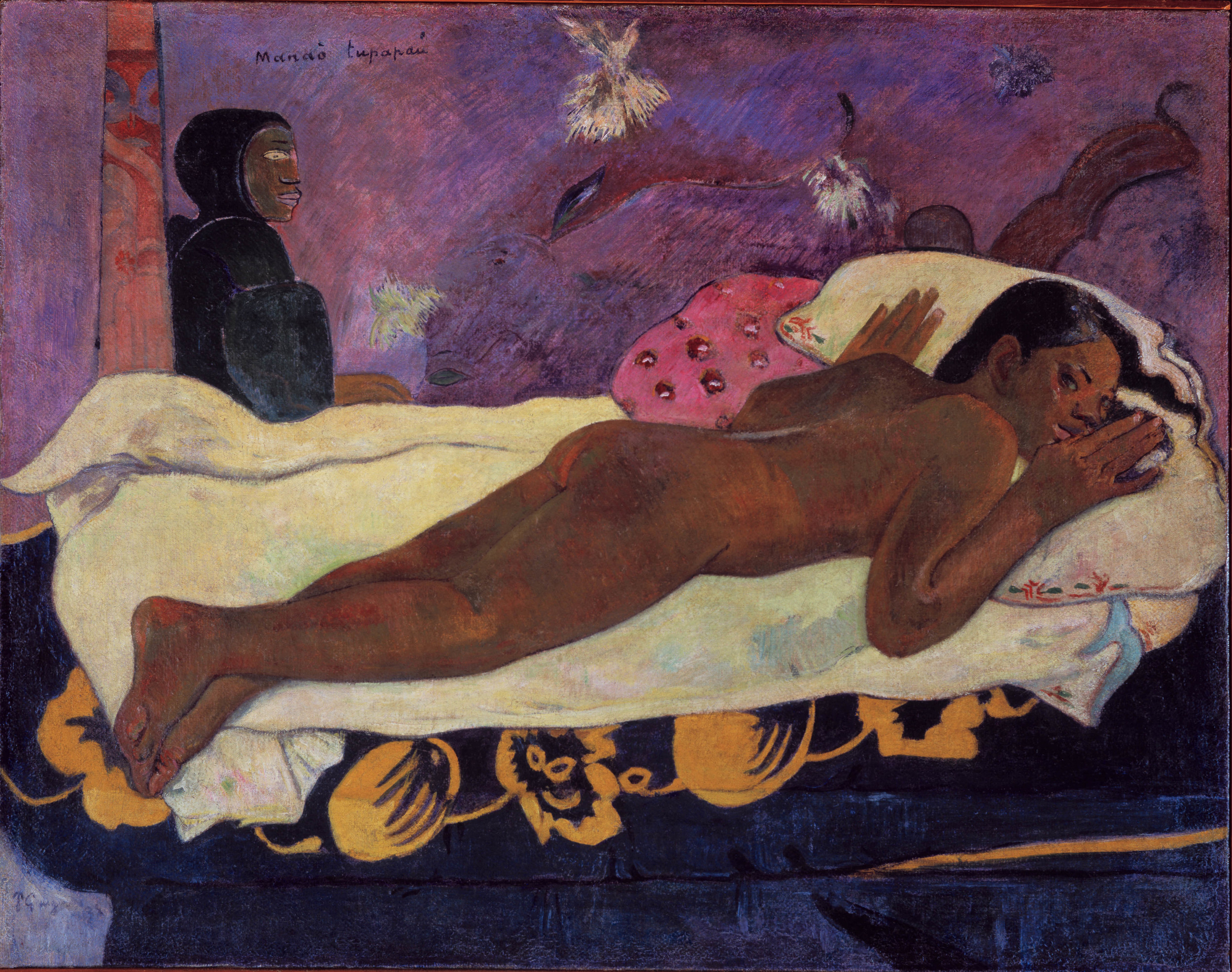 Paul Gauguin,  Spirit of the Dead Watching , 1892, Albright-Knox Art Gallery, Buffalo.