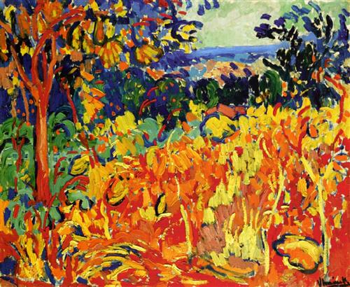 Maurice de Vlaminck,  The Orchard , 1905, Private Collection.