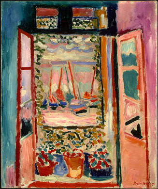 Henri Matisse,  Open Window, Collioure,  1905, National Gallery of Art, Washington, D.C.