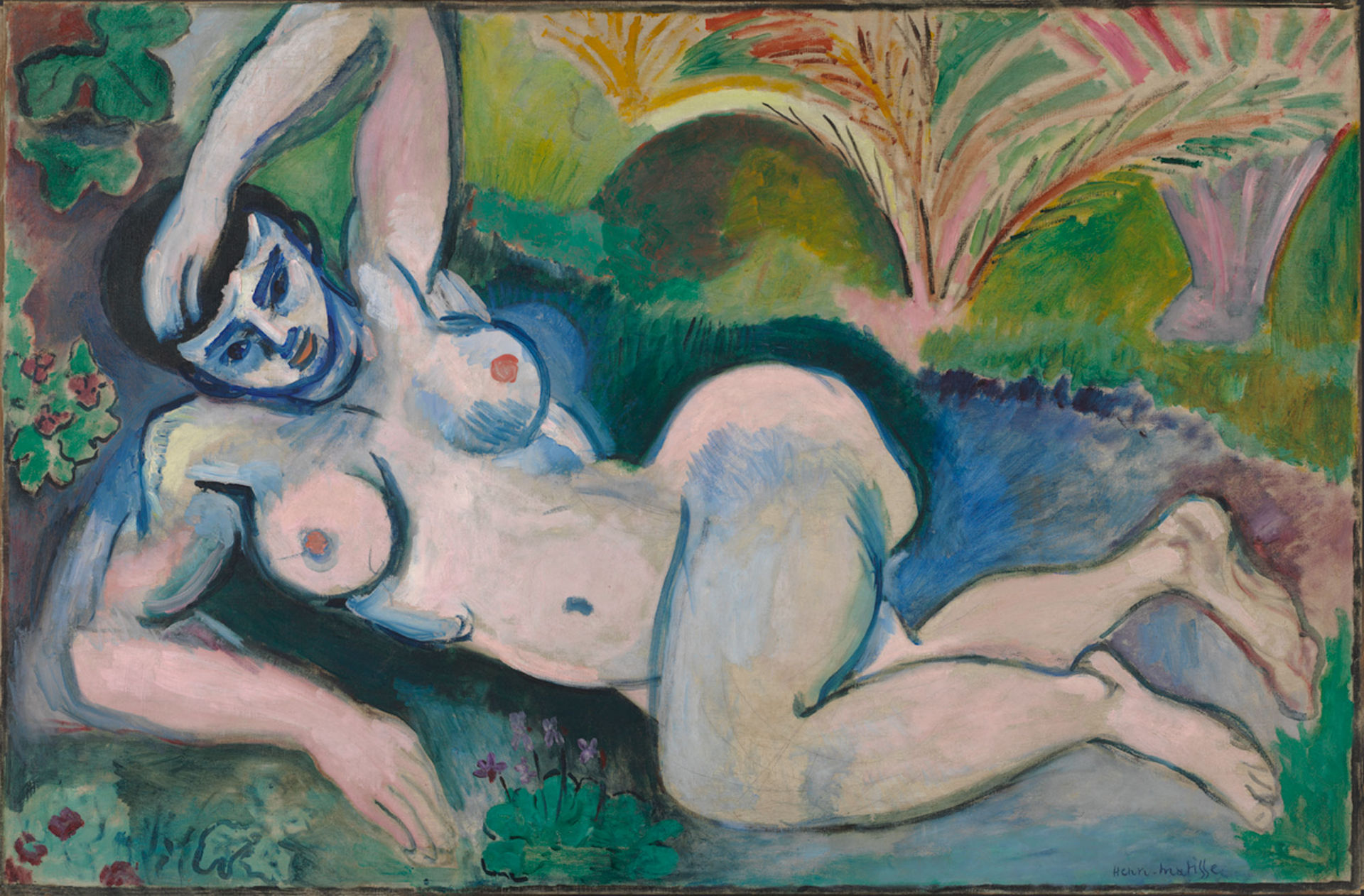 Henri Matisse,  Blue Nude , 1907, Baltimore Museum of Art.