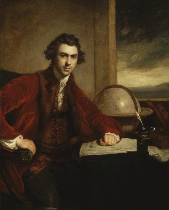 Sir Joshua Reynolds,  Sir Joseph Banks , 1773, National Portrait Gallery, London.