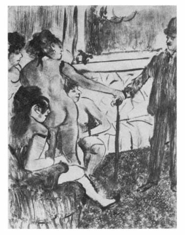 Edgar Degas,  The Serious Client , 1879, Private collection, London.