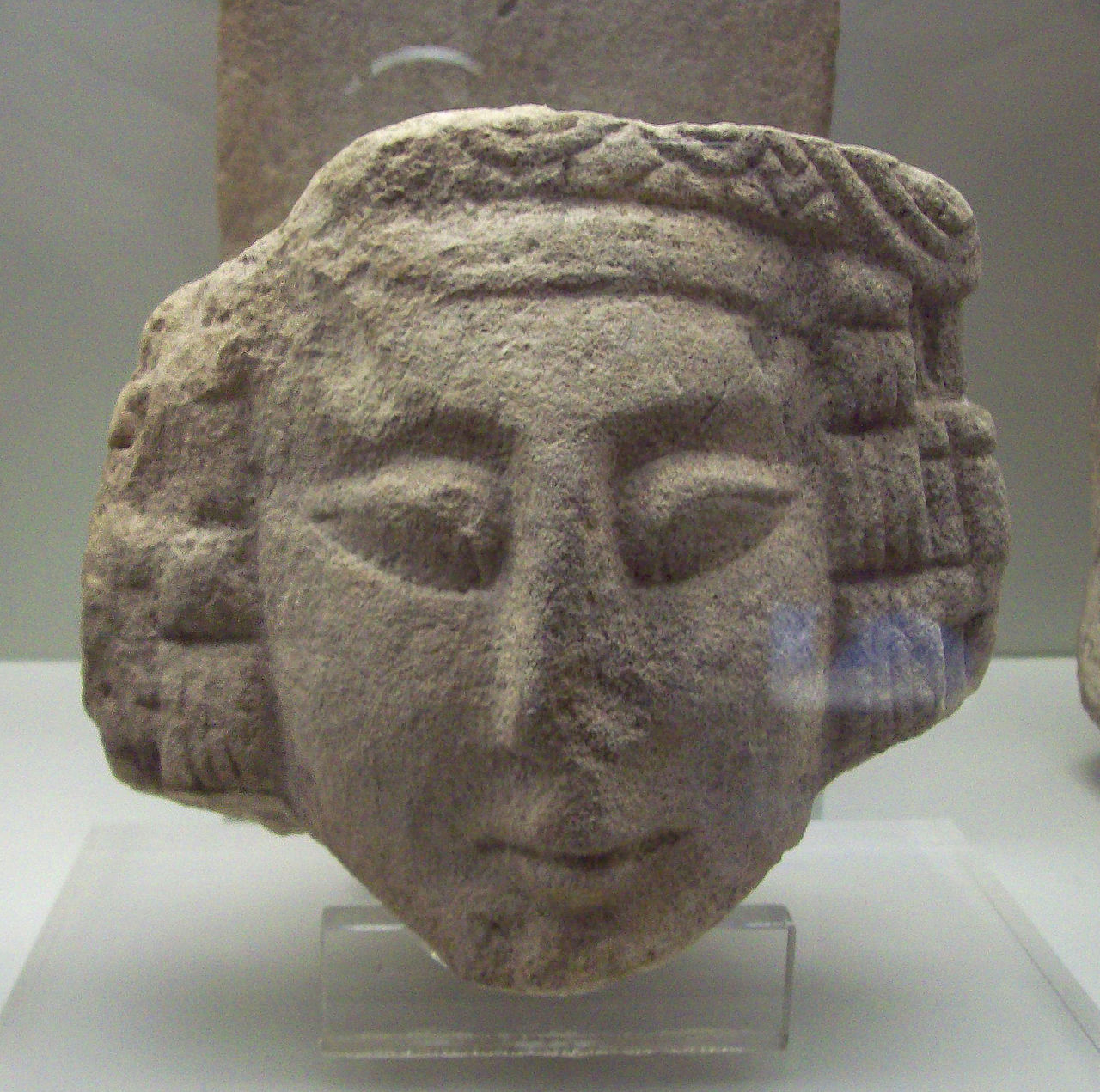 Iberian female sculpture from 3rd or 2nd century BC.