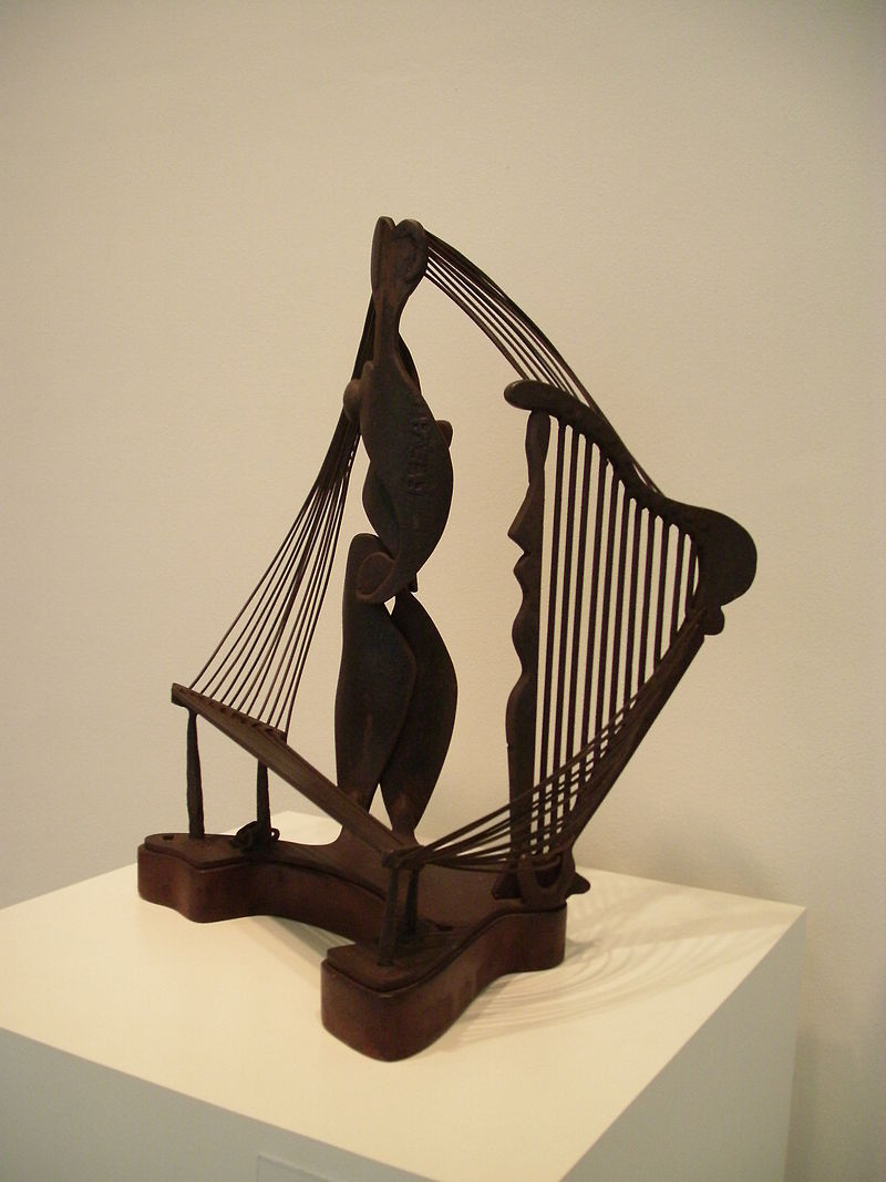 David Smith,  Ancient Household , 1945, bronze, Hirshhorn Museum and Sculpture Garden.