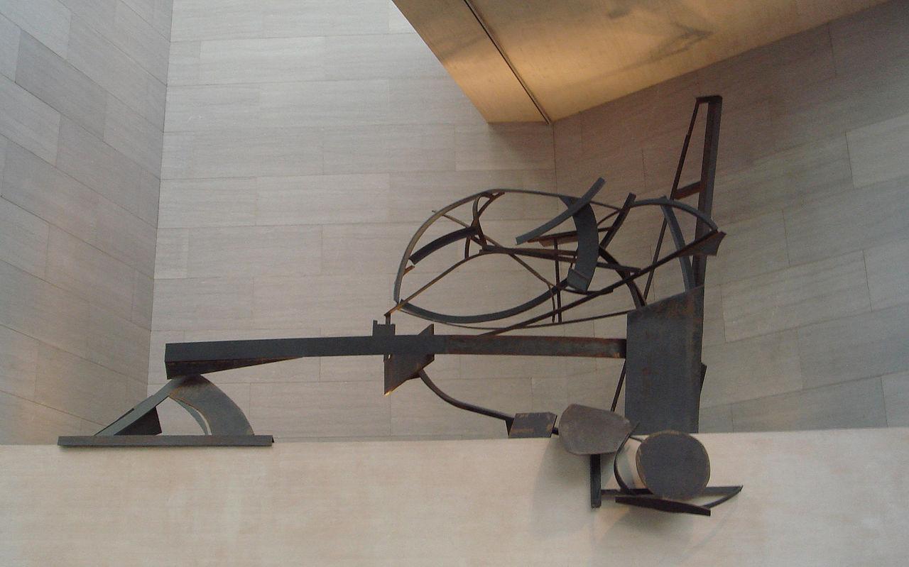 Anthony Caro,  National Gallery Ledge Piece , 1978.