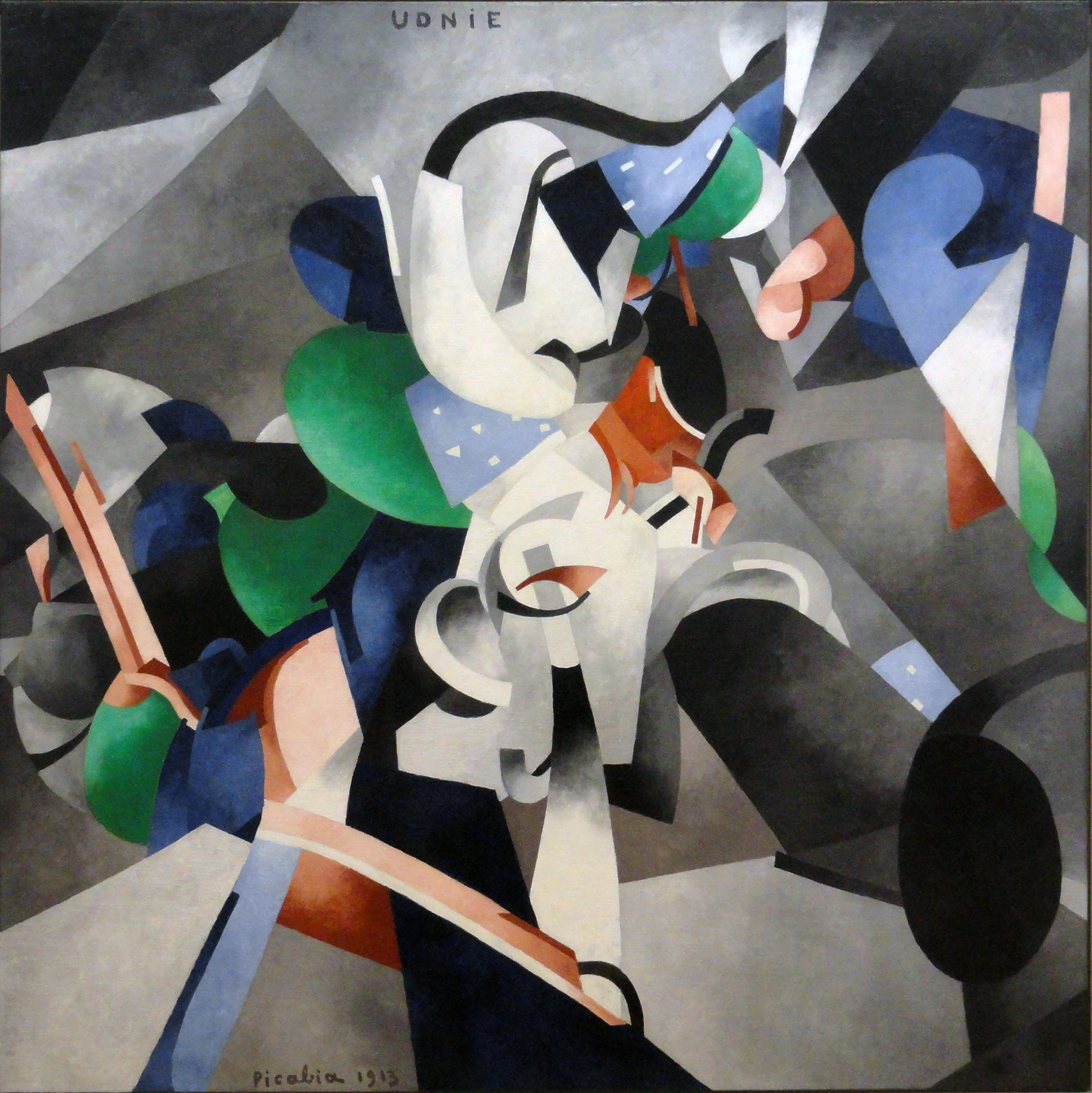 Francis Picabia,  Young American Girl, The Dance , 1913, Musée National d'Art Moderne, Centre Georges Pompidou, Paris.