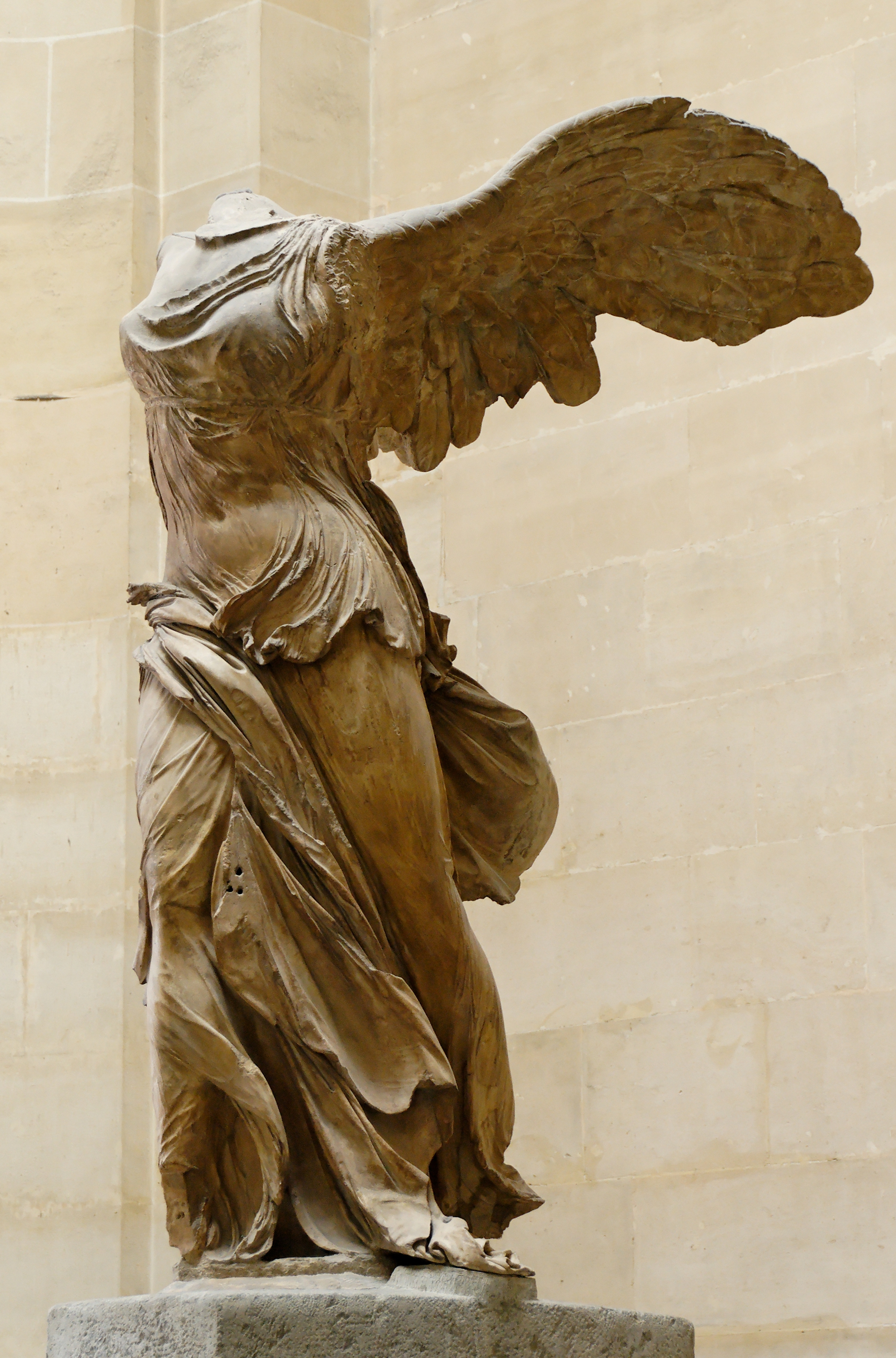 The Winged Victory of Samothrace  or  The Winged Nike , c. 200–190 BC, Louvre, Paris.