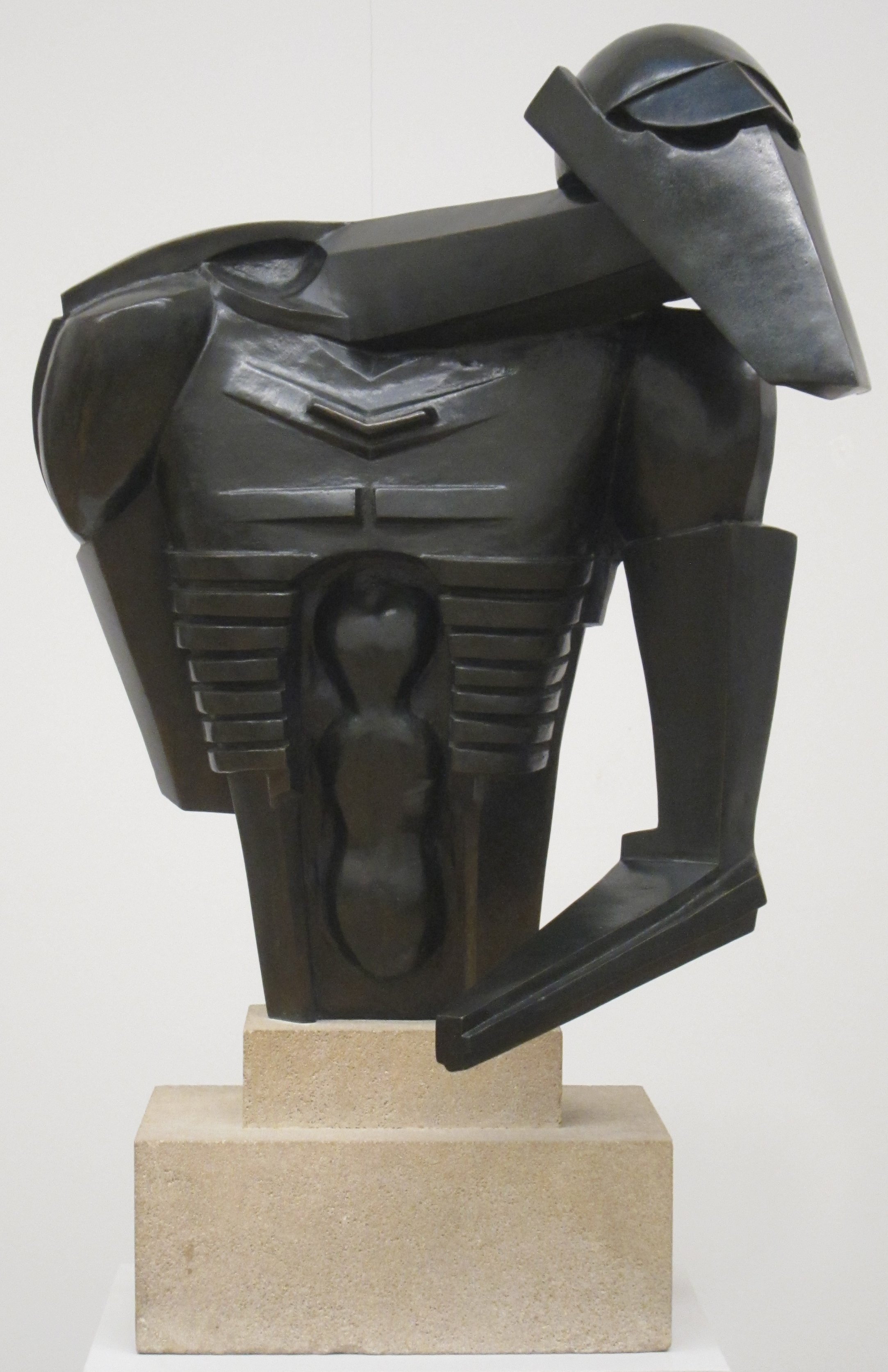 Jacob Epstein,  The Rock Drill , 1913–1916, Original destroyed by the sculptor, Reconstructed in 1974, Tate Britain.