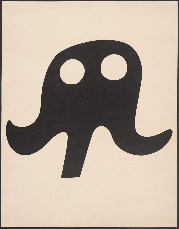Jean (Hans) Arp,  Mustache Ha  t , 1923, Museum of Modern Art, New York.