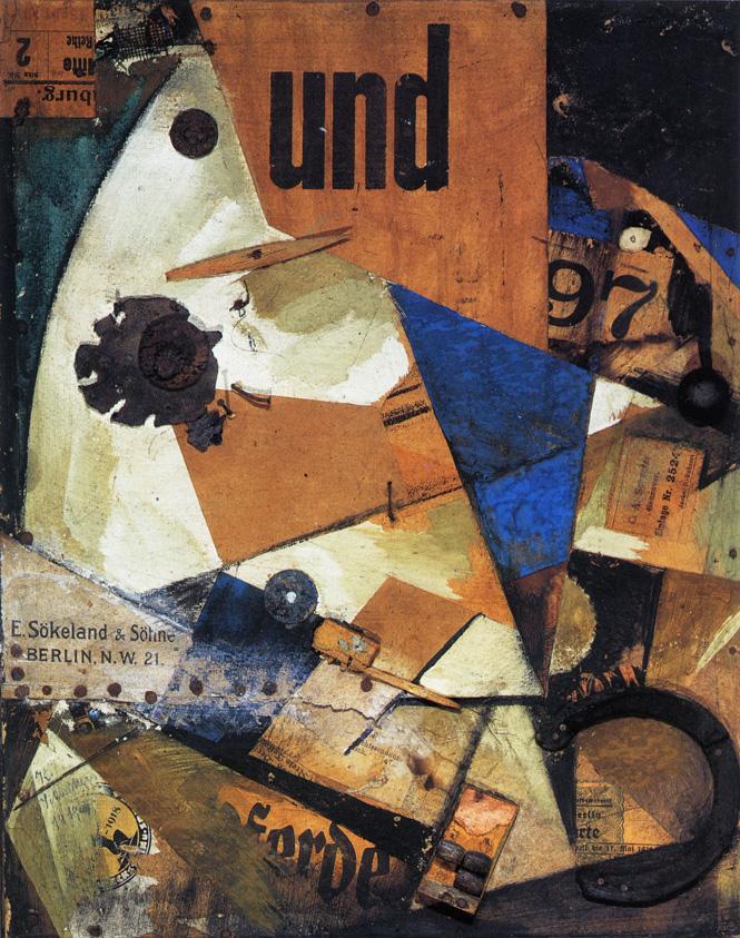 Kurt Schnitters,  Das Undbild , 1919, Staatsgalerie Stuttgart.