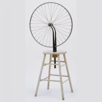 Marcel Duchamp,  Bicycle Wheel , 1951 (Reconstruction), Museum of Modern Art, New York.