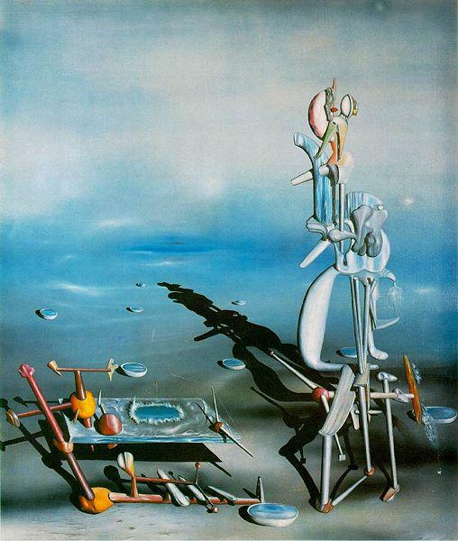 Yves Tanguy,  Indefinite Divisibility , 1942, Albright Knox Art Gallery, Buffalo, New York.