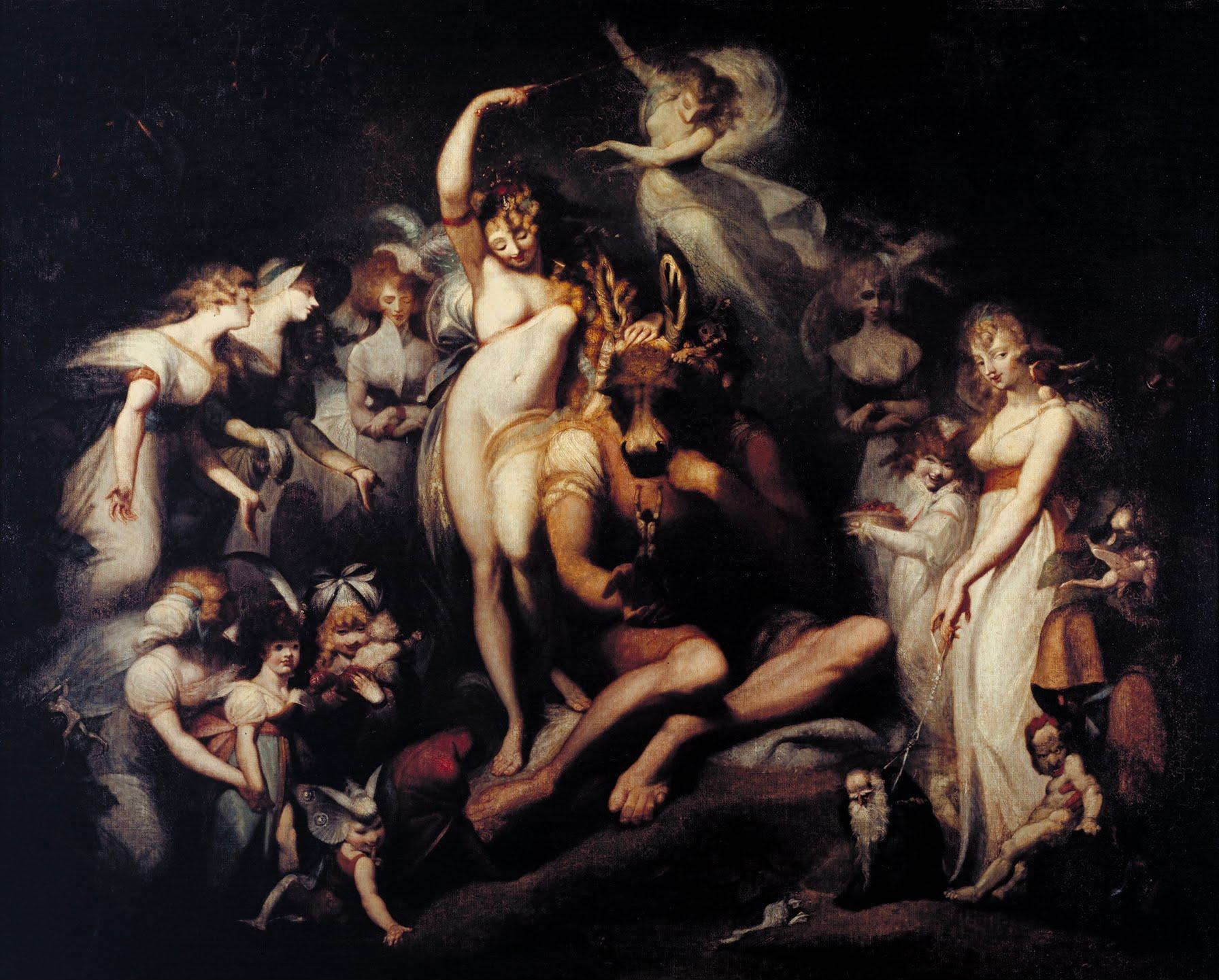 Henry Fuseli,  Titania and Bottom , c. 1790, Tate Britain.
