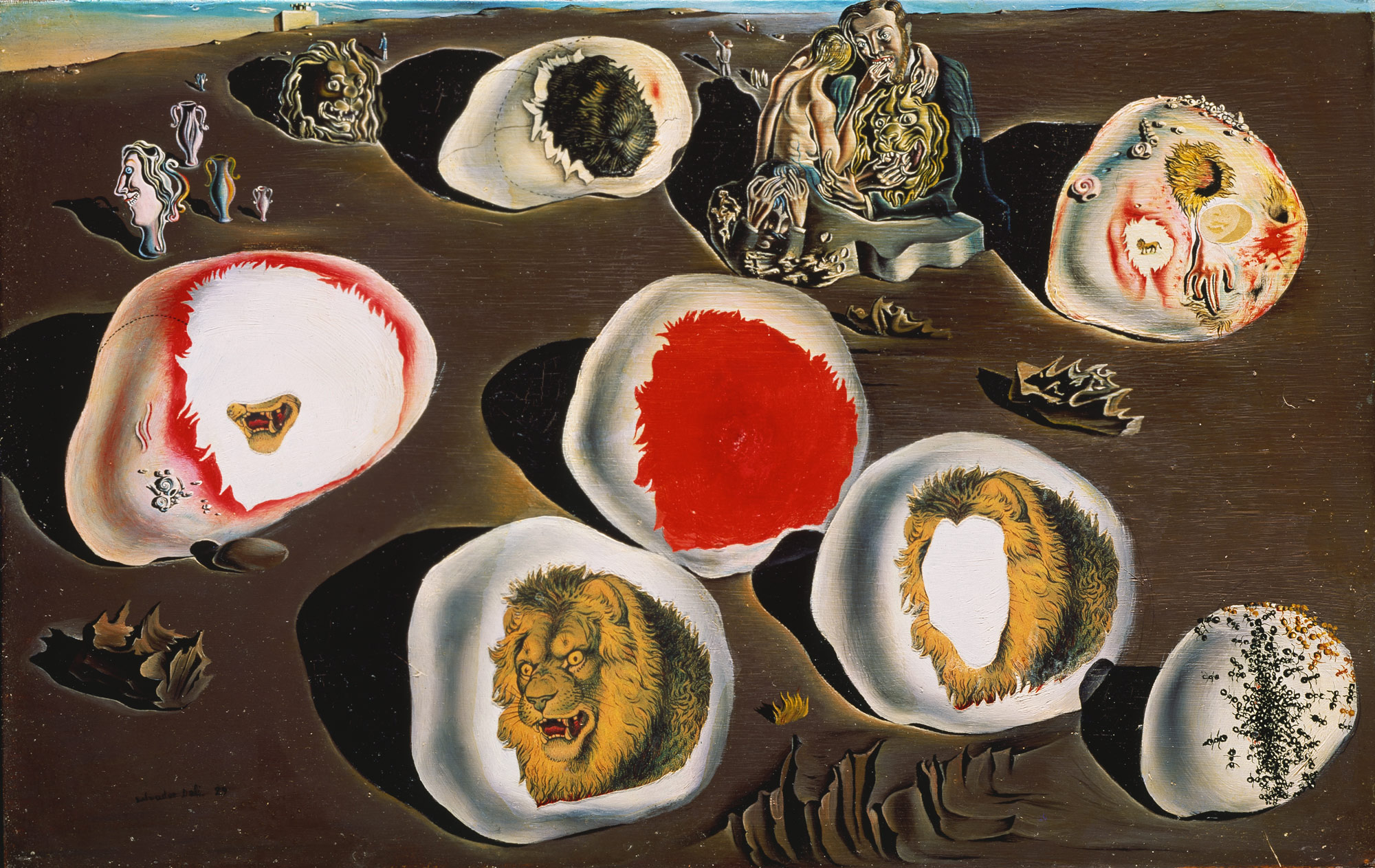 Salvador Dalí,  The Accommodations of Desire , 1929, Metropolitan Museum of Art, New York.