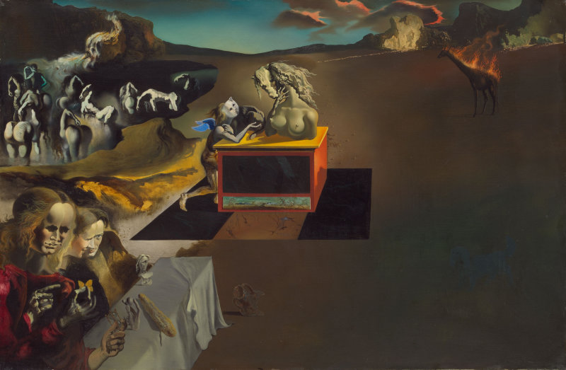 Salvador Dalí,  Inventions of the Monsters , 1937, Art Institute of Chicago.