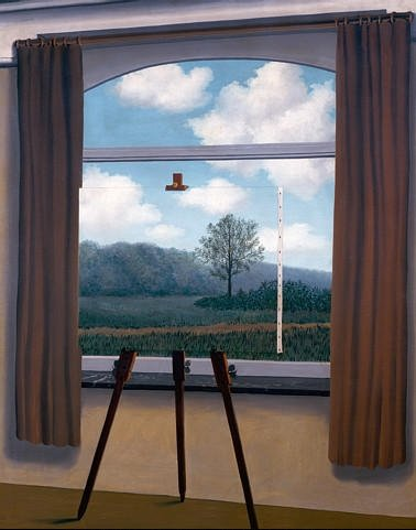 René Magritte,  The Human Condition , 1933, National Gallery of Art, Washington DC.