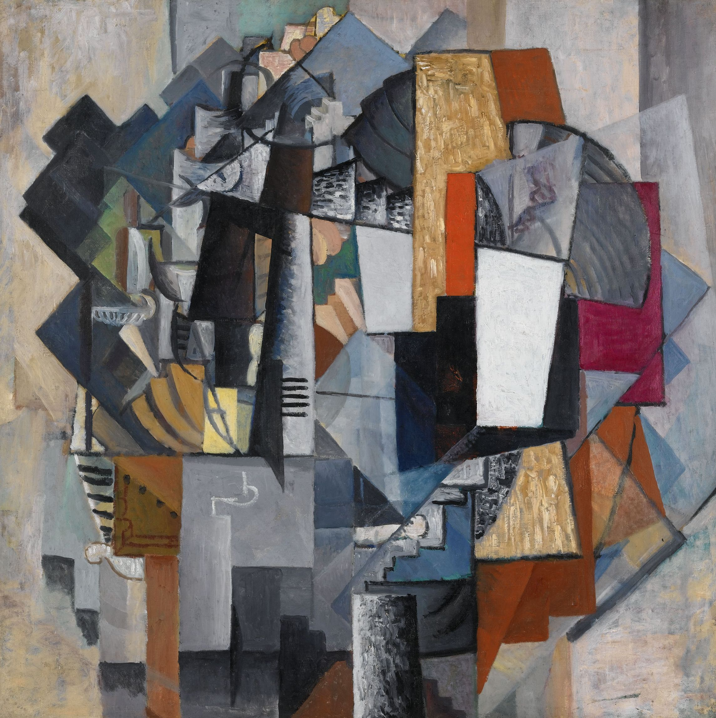 Kazimir Malevich,  Bureau and Room , 1913, Stedelijk Museum, Amsterdam.