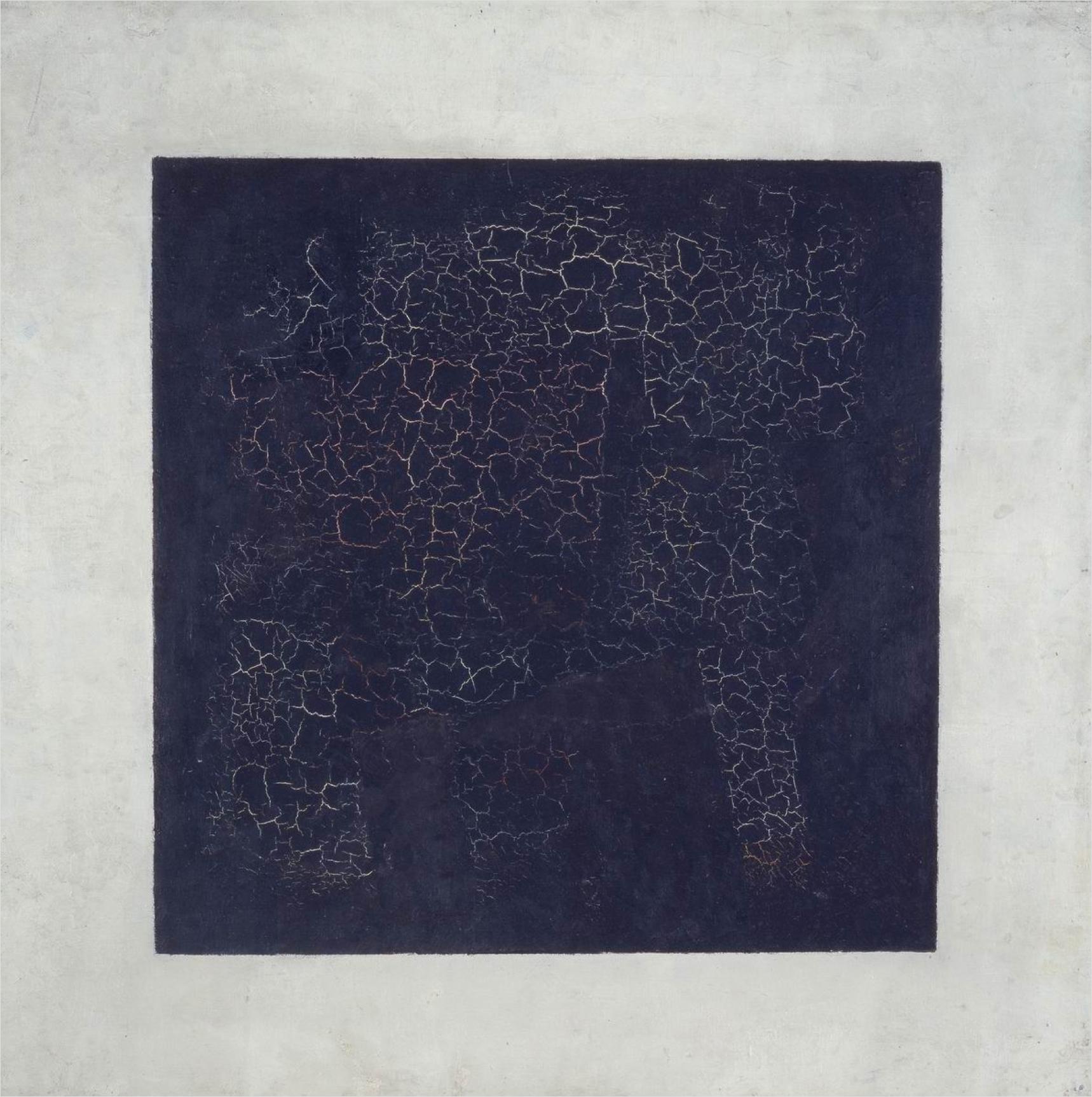 Kazimir Malevich,  Black Square , 1915, Tretyakov Gallery, Moscow.