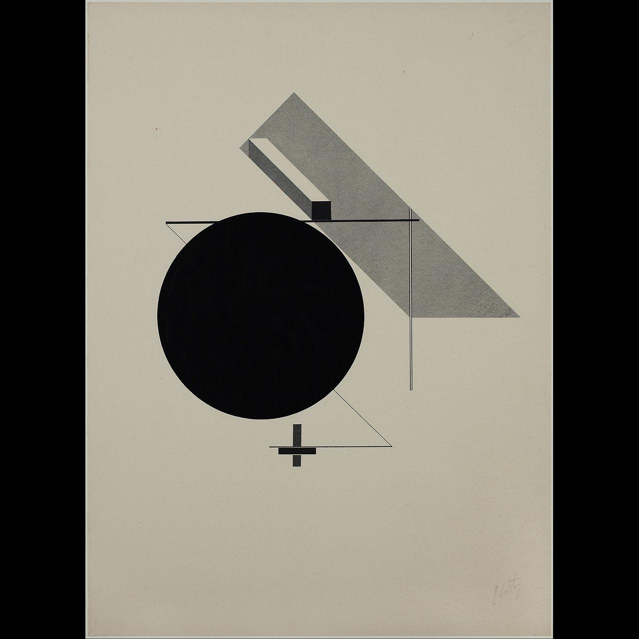 El Lissitzky,  Kestnermappe Proun , 1923, Berardo Collection Museum, Lisbon.