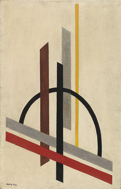 László Moholy-Nagy,  Architecture (Eccentric Construction) , c.1921, Guggenheim Museum, New York.
