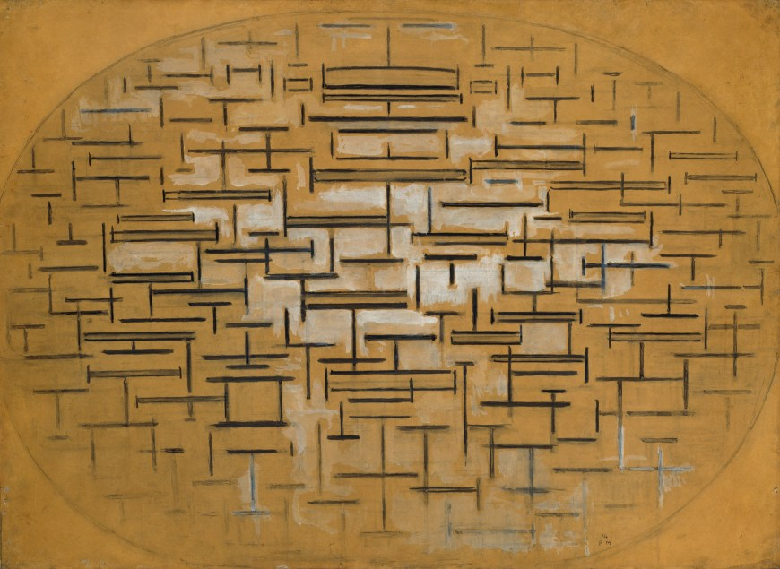 Piet Mondrian,  Ocean 5 , 1914, Peggy Guggenheim Collection, Venice.