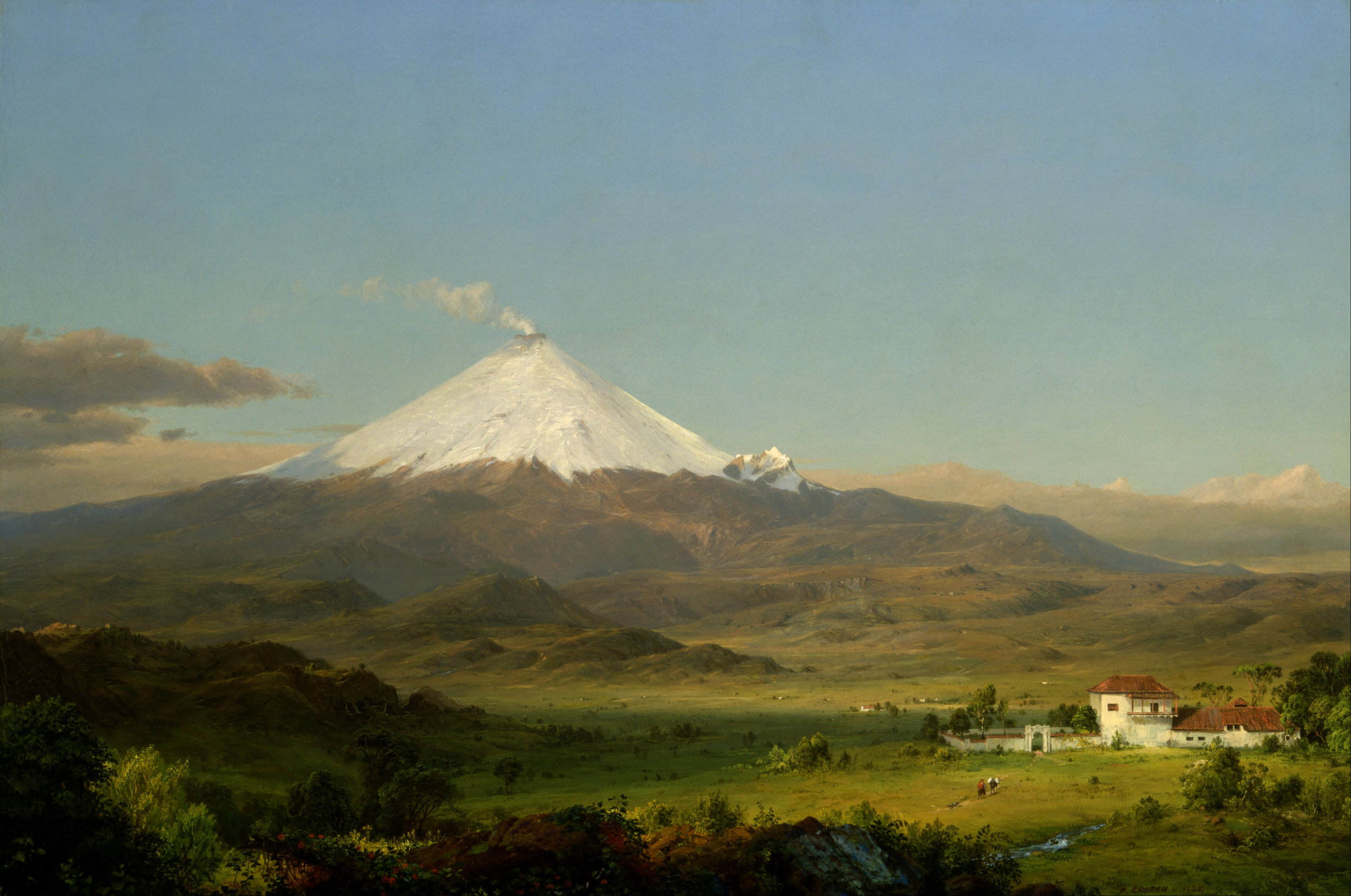 Frederic Church,  Cotopaxi , 1855, Smithsonian American Art Museum.