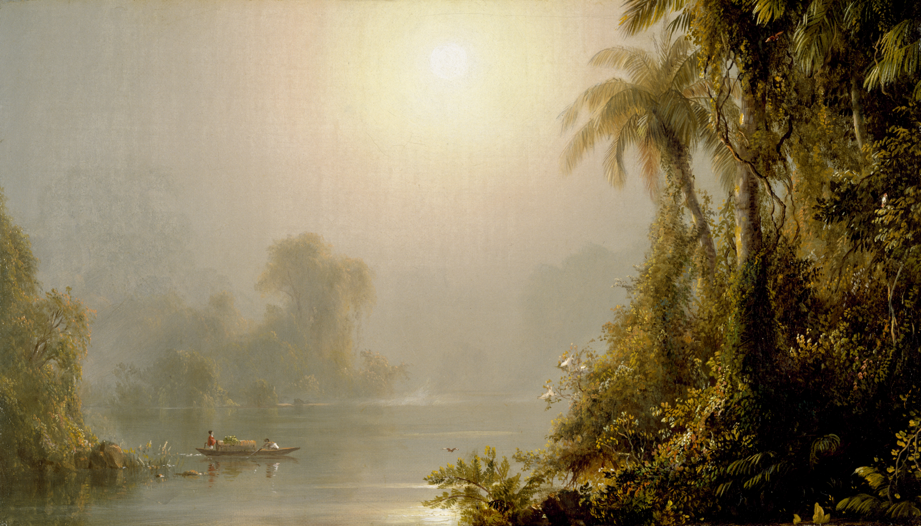 Frederic Church,  Morning in the Tropics , c.1858, The Walters Art Museum, Baltimore.