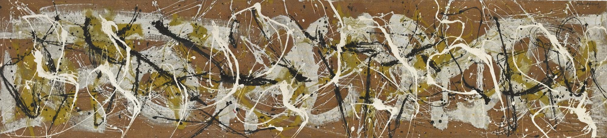 Jackson Pollock,  Number 7,  1950, Museum of Modern Art, New York.