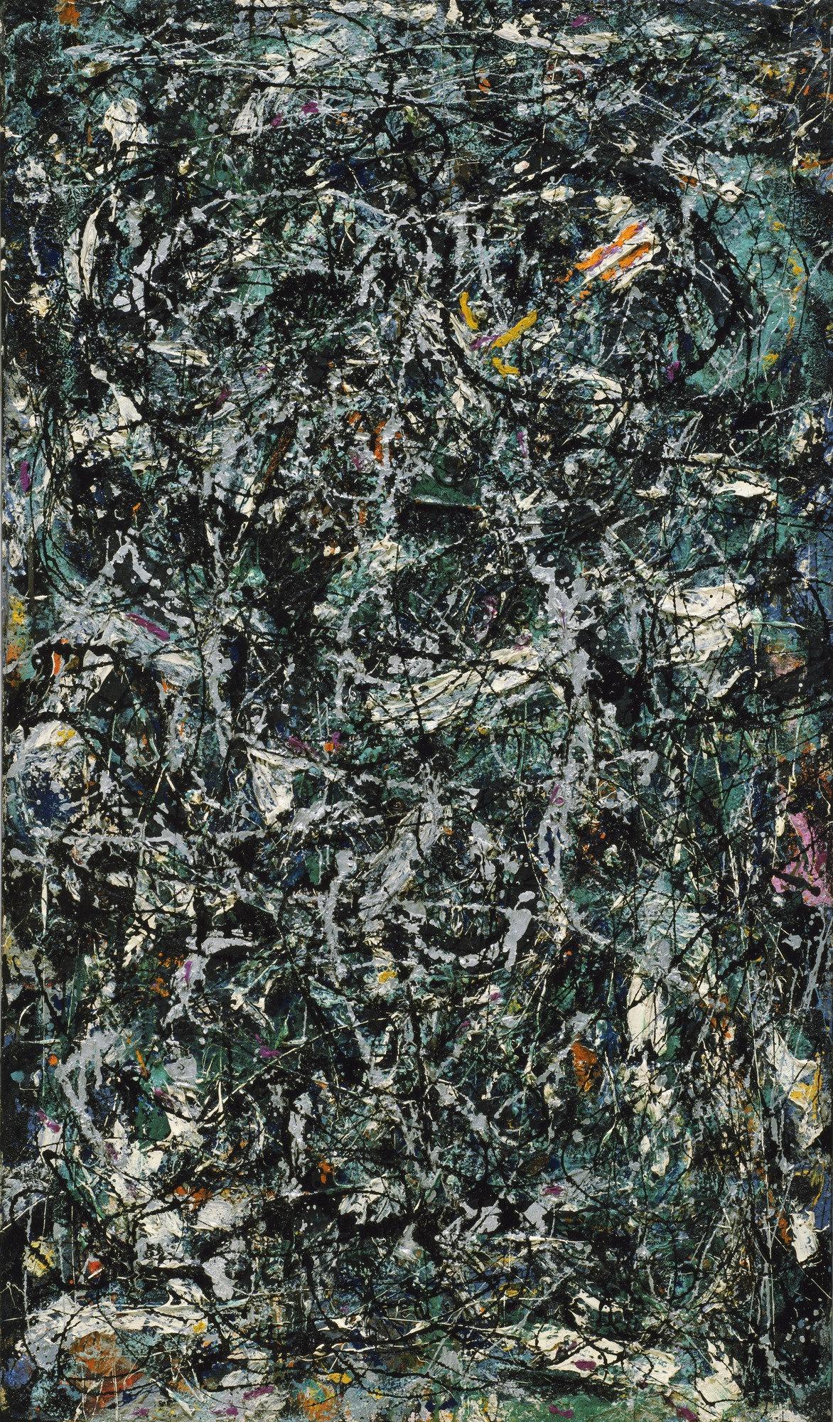 Jackson Pollock,  Full Fathom Five , 1947, Museum of Modern Art, New York.
