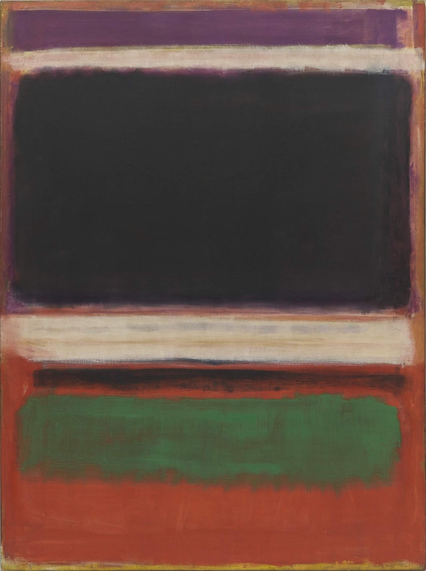 Mark Rothko,  No. 3/No. 13 , 1949, Museum of Modern Art, New York.