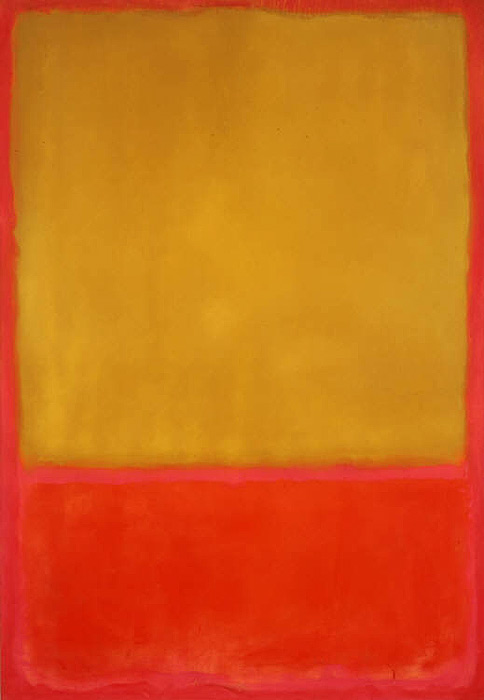 Mark Rothko,  Ochre and Red on Red , 1954, Phillips Collection, Washington, DC.