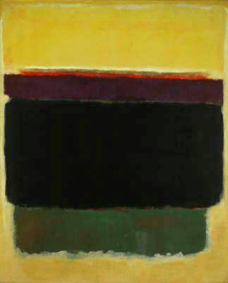 Mark Rothko,  Untitled , 1949, National Gallery of Art, Washington, DC.