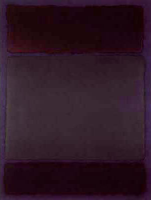 Mark Rothko,  Untitled,  1968, Private Collection.