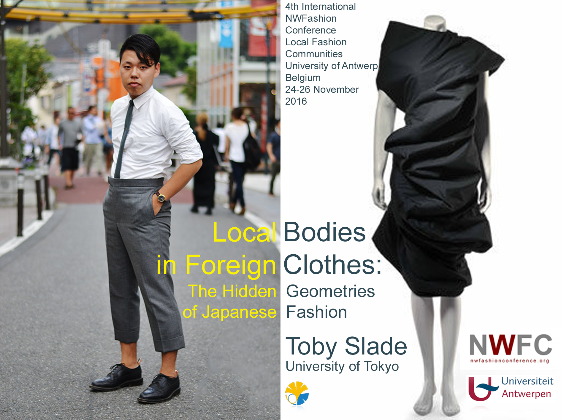2016Non-Western Fashion Conference - University of Antwerp