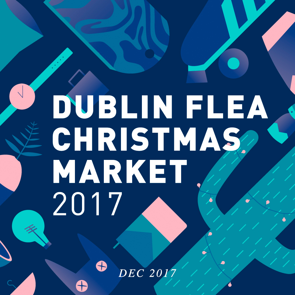 Visit us at the Dublin Flea Christmas Market from Dec 7th - 10th in the Point Square.