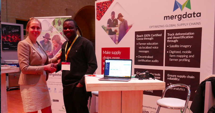 Farmerline - Farmerline connects small-scale farmers to information services, products, and resources to improve their incomes and currenlty reaches 200,000 farmers in 8 African countriesMergdata, Farmerline's proprietary technology, provides information services to farmers to increase crop outputs