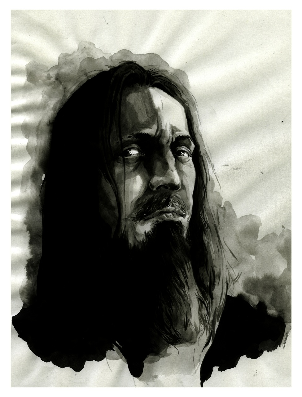 Fenriz, from Darkthrone