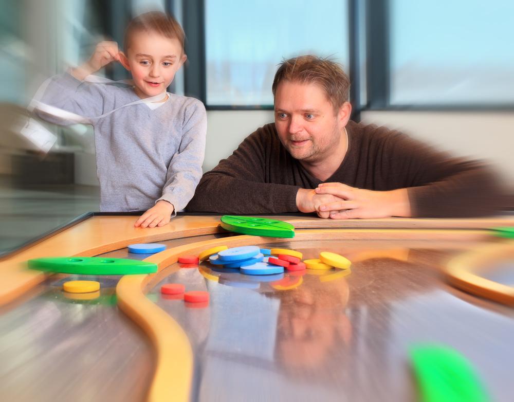 YES! Jeg slo fattern! Kunnskap formidlet via lek og fornøyelse kan i mange tilfeller være et godt alternativ til tradisjonell læring. Klikk på bildet for å forstørre.