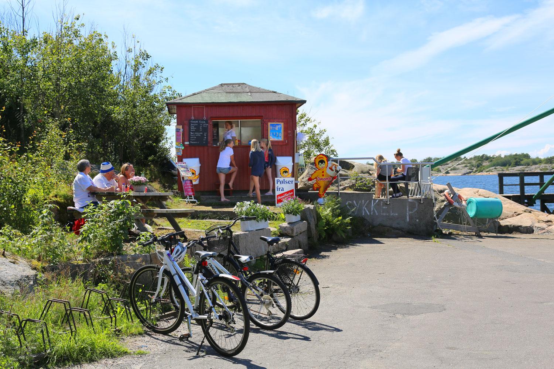 Slevik brygge og Hakan kiosk har blitt svært populære attraksjoner på Onsøykysten sommeren 2016.