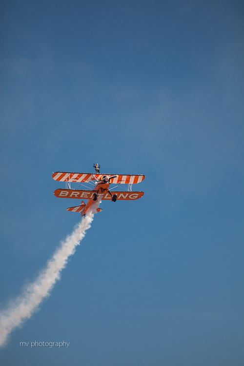 Breitling Wing walker team Avalon AIr show