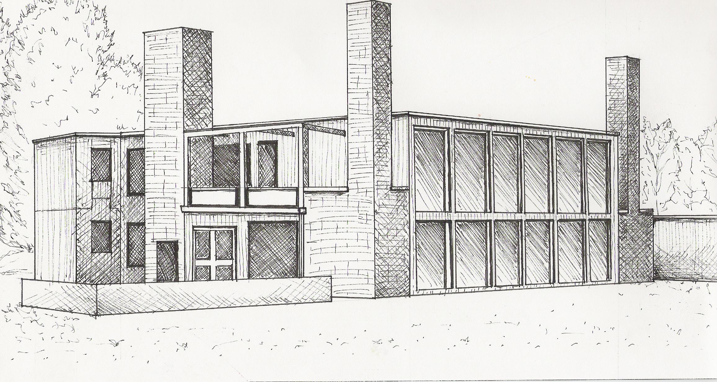Louis Kahn's Kalman House