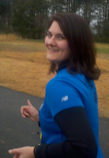My very first 5K a few years ago