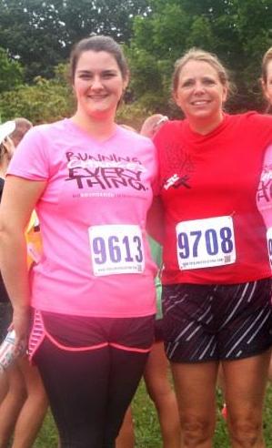 Me and my Fleet Feet running coach, Jeannie