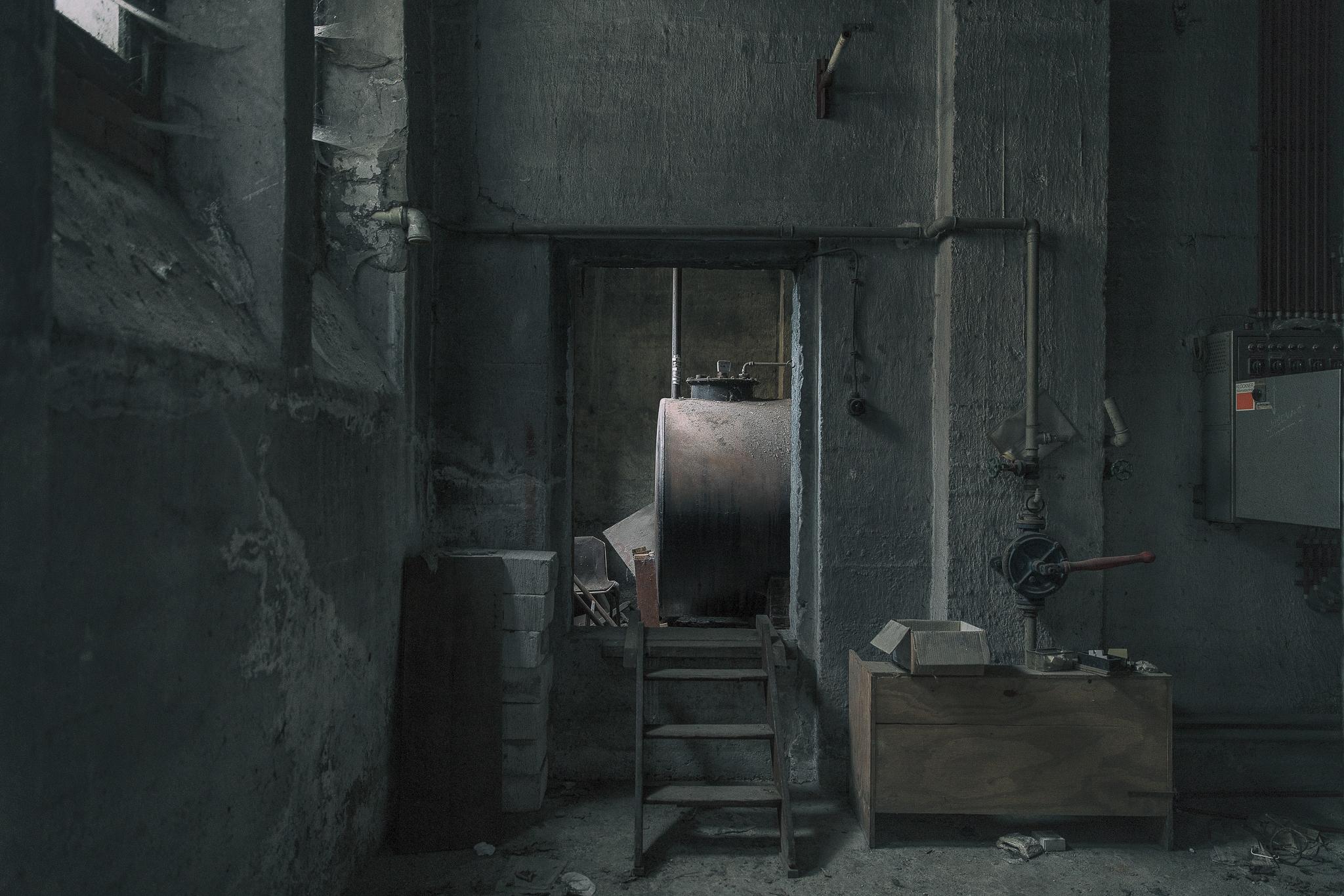 Blick zurück in den Keller